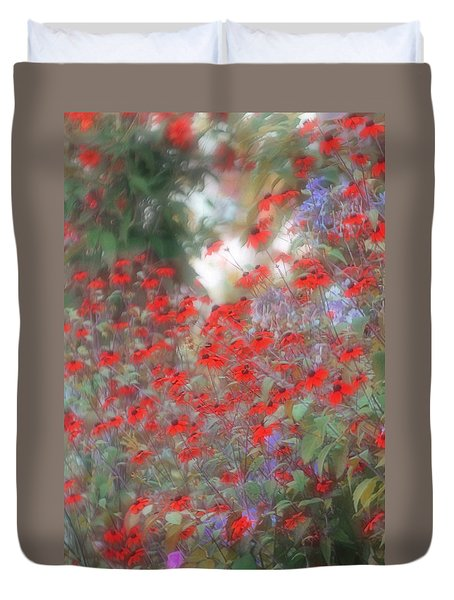 Lost In Paradise Duvet Cover by The Art Of Marilyn Ridoutt-Greene