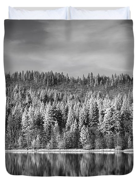 Lost In Reflection Duvet Cover