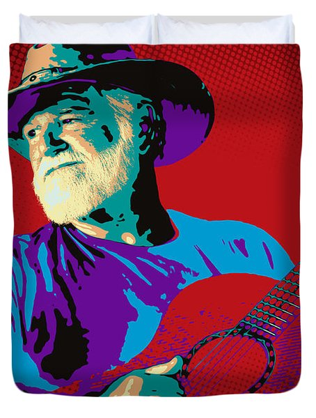 Jack Pop Art Duvet Cover