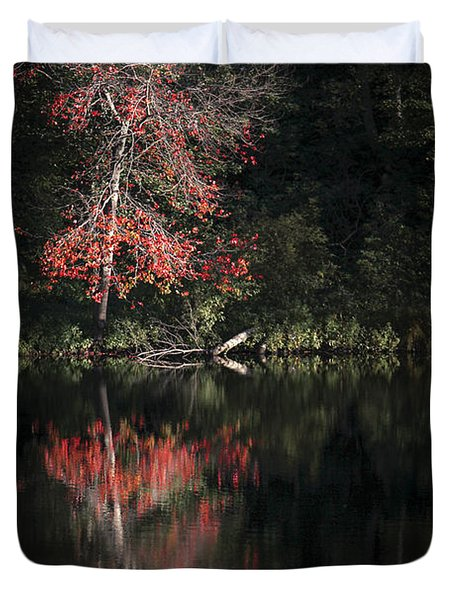 Lost In The Autumn Of Eternity Duvet Cover
