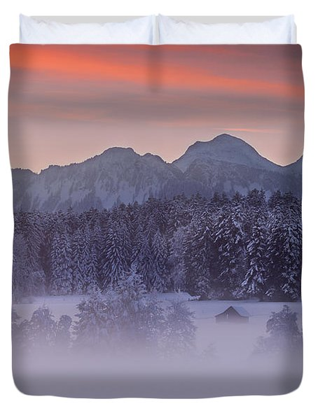 Lost In The Mist Duvet Cover