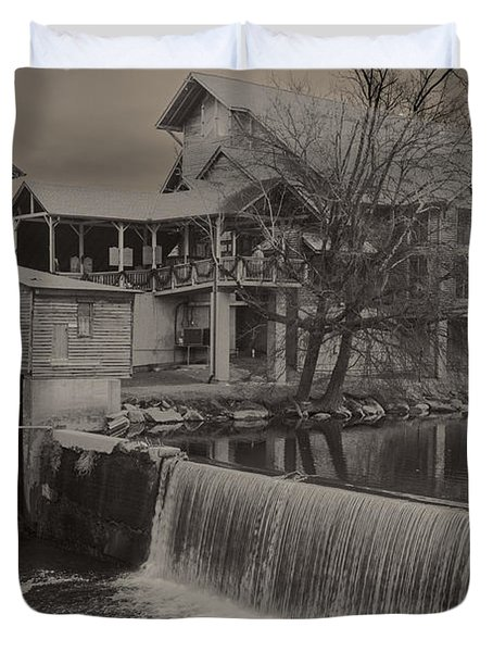 Duvet Cover featuring the photograph Lost In Time 2 by Michael Waters