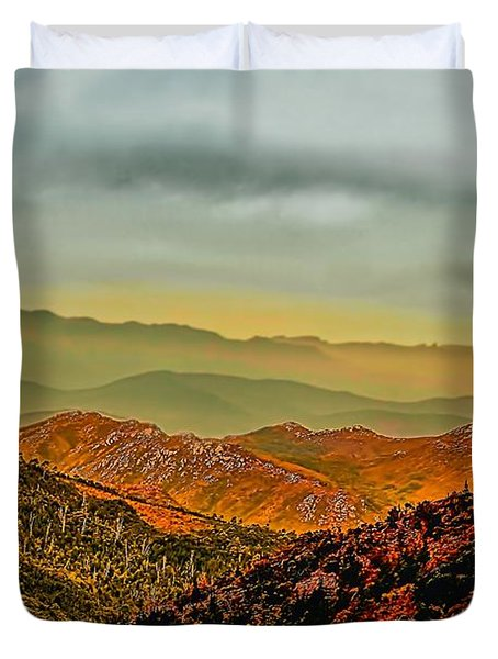 Lost In Time Duvet Cover by Wallaroo Images
