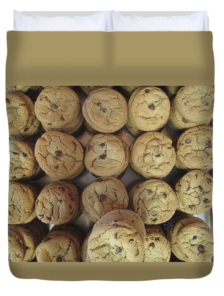 Lotta Cookies Duvet Cover by Kevin Caudill