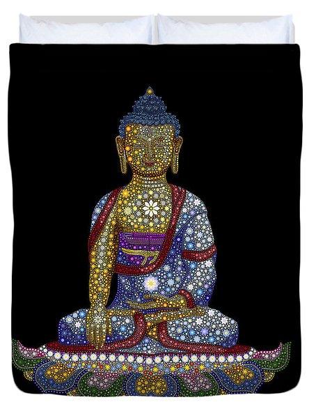 Lotus Buddha Duvet Cover