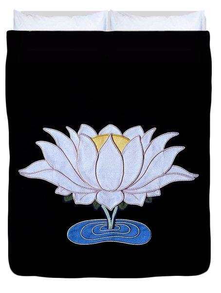 Lotus Duvet Cover by Leslie Rinchen-Wongmo