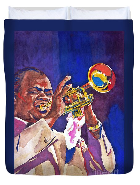 Louis Satchmo Armstrong Duvet Cover