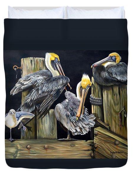 Louisiane Berceuse Duvet Cover by Phyllis Beiser