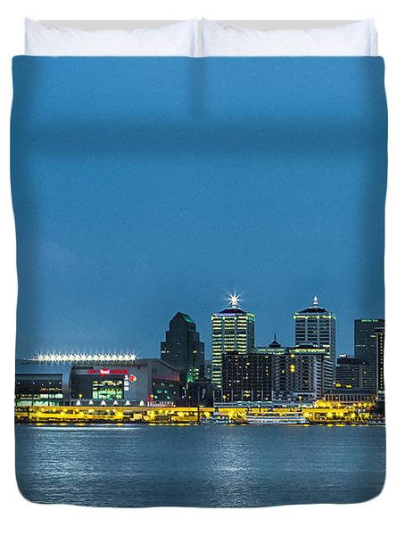 Louisville Ky 2012 Duvet Cover