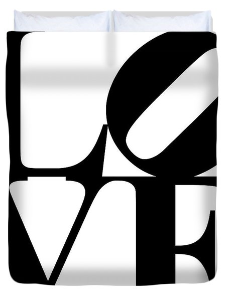 Love 20130707 Black White Duvet Cover