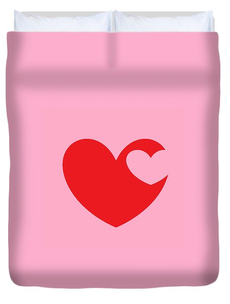Love 4 Duvet Cover by Andrew Drozdowicz