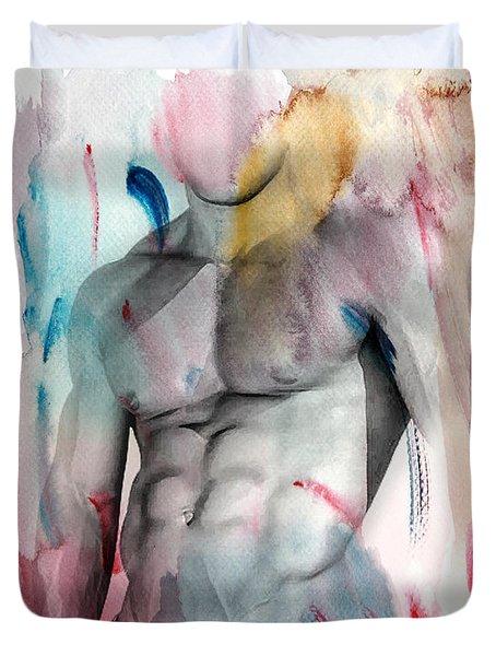 Love Colors  Duvet Cover by Mark Ashkenazi