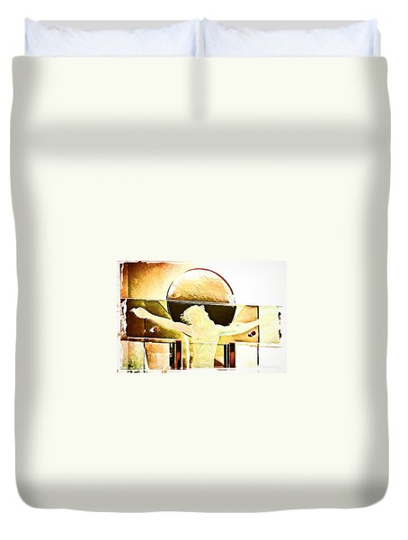 Greater Love  Duvet Cover