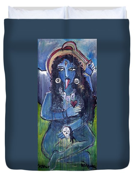Love For Kali Duvet Cover