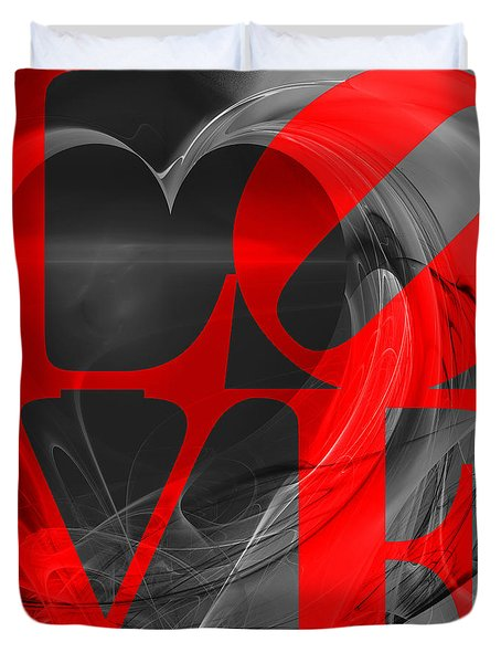 Love Heart 20130707 V1b Duvet Cover