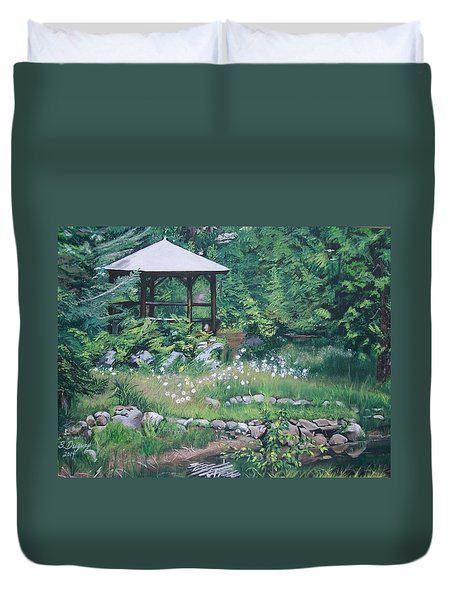 Love In July  Duvet Cover
