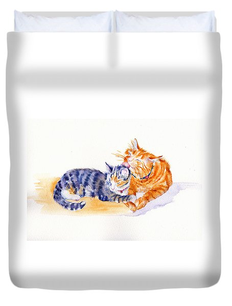 Love Is A Touch Duvet Cover