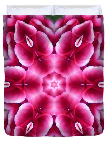 Love Is Divine Mandala Duvet Cover
