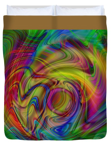 Love Is In The Air Duvet Cover by Kevin Caudill