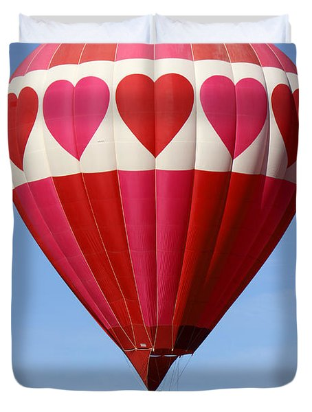 Love Is In The Air Duvet Cover by Mike McGlothlen
