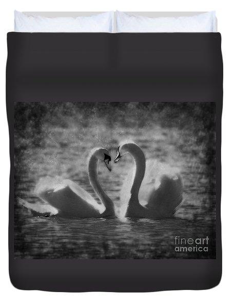 Love Is.. Duvet Cover by Nina Stavlund