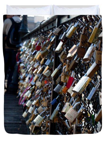 Love Locks Duvet Cover