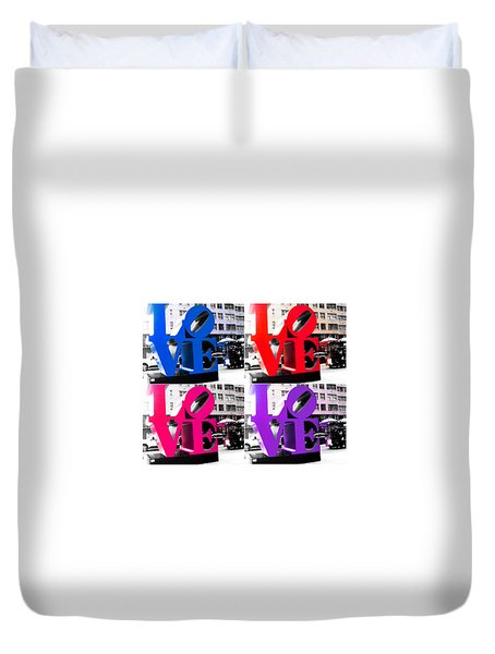 Love Pop Duvet Cover
