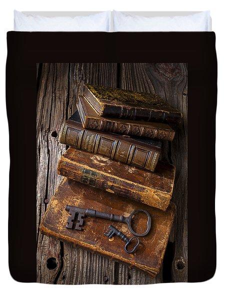 Love Reading Duvet Cover