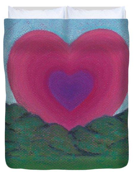 Love Rising Duvet Cover