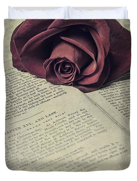 Love Stories Duvet Cover by Joana Kruse