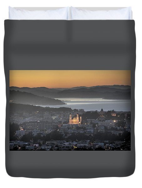 Love That Melts The Heart Of A Lonely Soul Duvet Cover