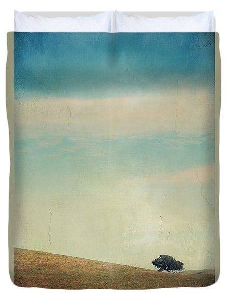 Love Your Own Company Duvet Cover by Laurie Search