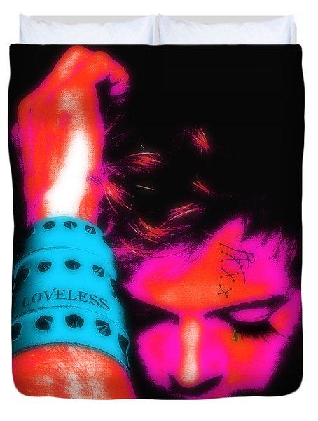 Loveless Soft Pink Duvet Cover
