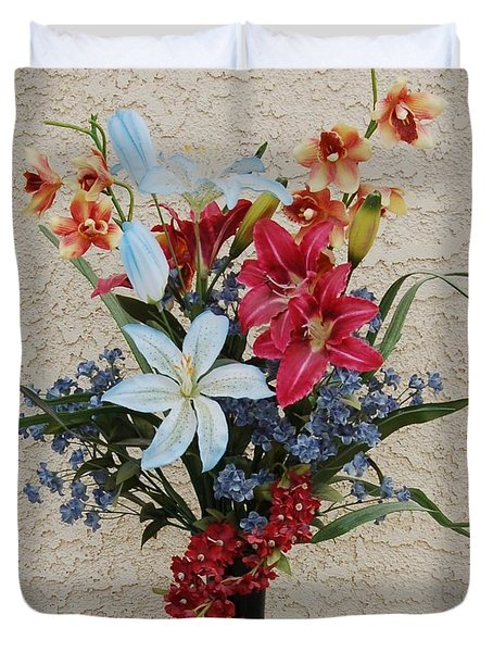 Lovely Bouquet Duvet Cover