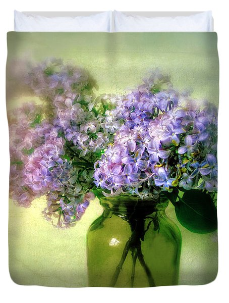 Lovely Lilac  Duvet Cover