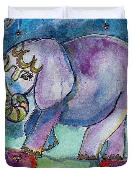 Lovely Little Elephant2 Duvet Cover