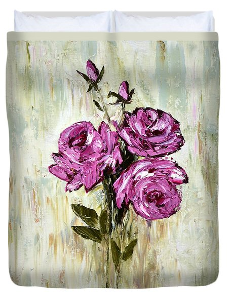 Lovely Roses Duvet Cover