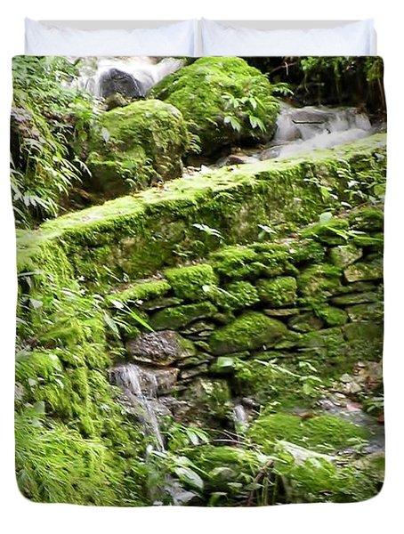 Lovely Waterfall Duvet Cover