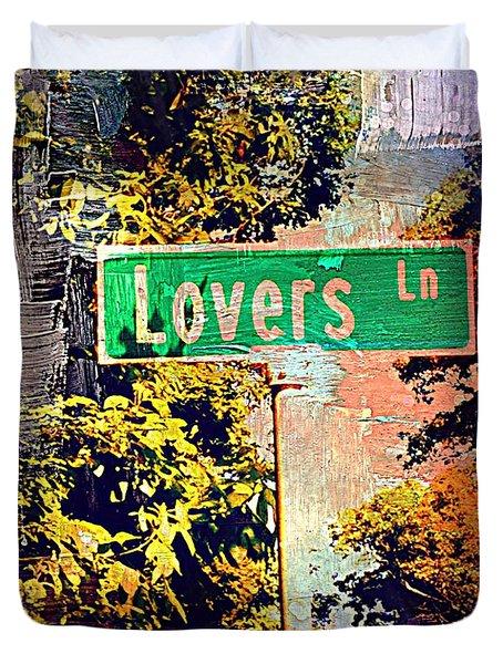 Lovers Lane Duvet Cover