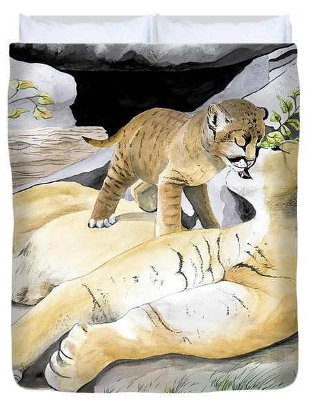 Loving Moment Duvet Cover