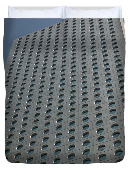 Low Angle View Of A Building, Jardine Duvet Cover by Panoramic Images