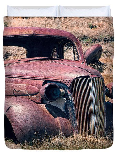 Duvet Cover featuring the photograph Low Rider by Steven Bateson