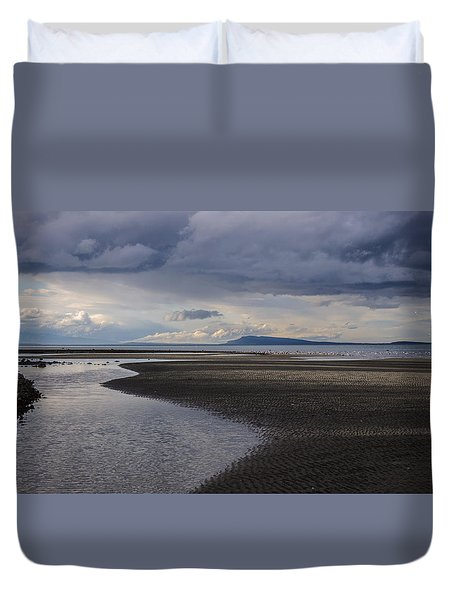 Tidal Design Duvet Cover by Roxy Hurtubise