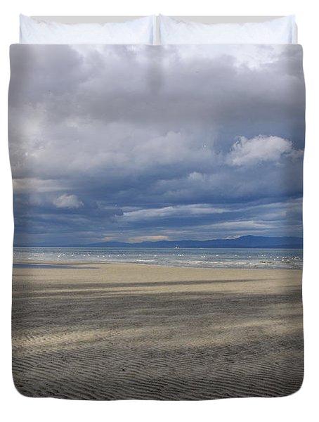 Low Tide Sandscape Duvet Cover