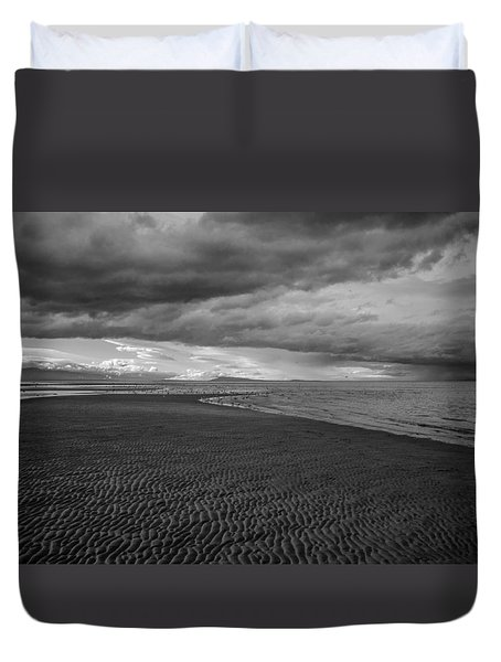 Low Tide Duvet Cover by Roxy Hurtubise