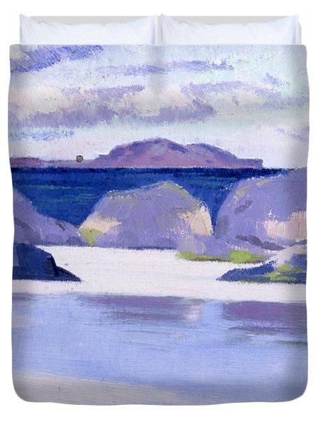 Low Tide  Iona Duvet Cover