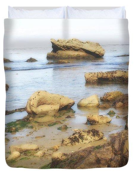 Low Tide Duvet Cover by Marty Koch