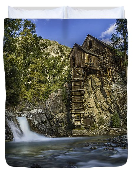 Lower Crystal Mill  Duvet Cover