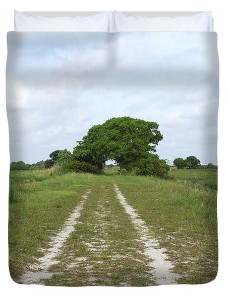 Loxahatchee Wildlife Refuge Duvet Cover