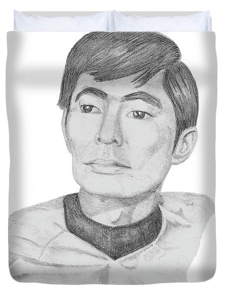 Lt. Sulu Duvet Cover